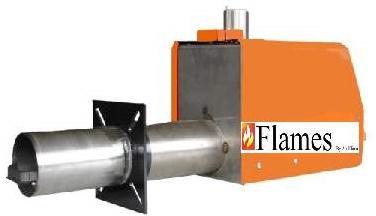Flames καυστήρας pellet 25-65KW